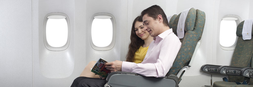Fly as per your choice and convenience to enhance your travel comfort